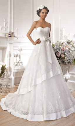 Свадебное платье ретро в стиле 50-х