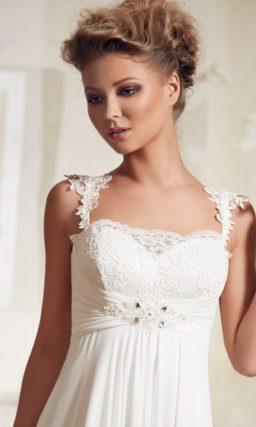 Греческое свадебное платье в большом размере