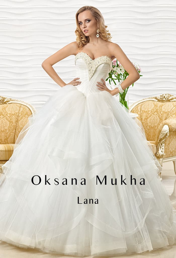 Коллекция свадебных платьев оксаны мухи
