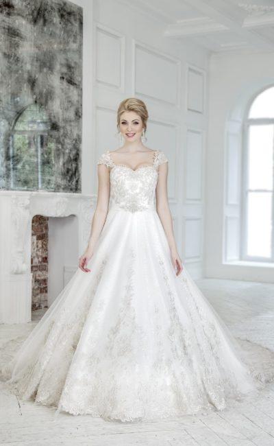 Изумительное пышное свадебное платье
