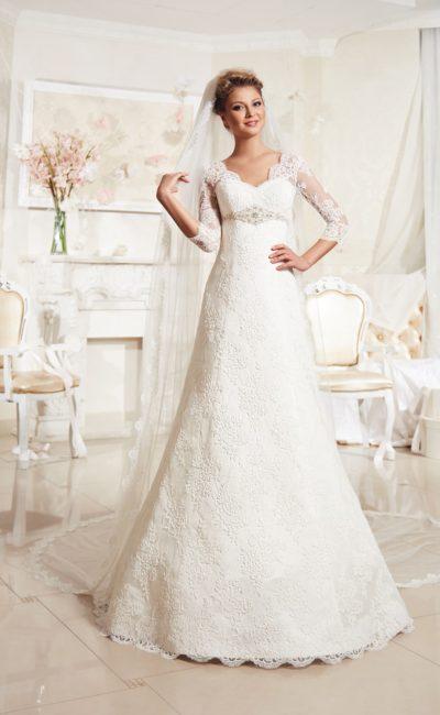 Свадебное платье большого размера