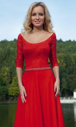 платье прямого силуэта