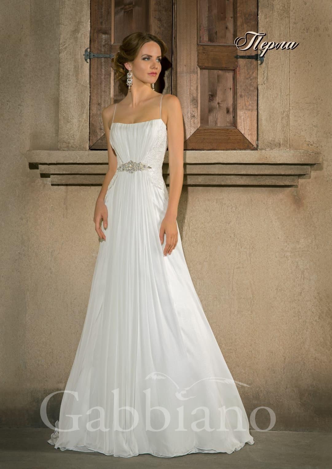 Свадебное платье перла