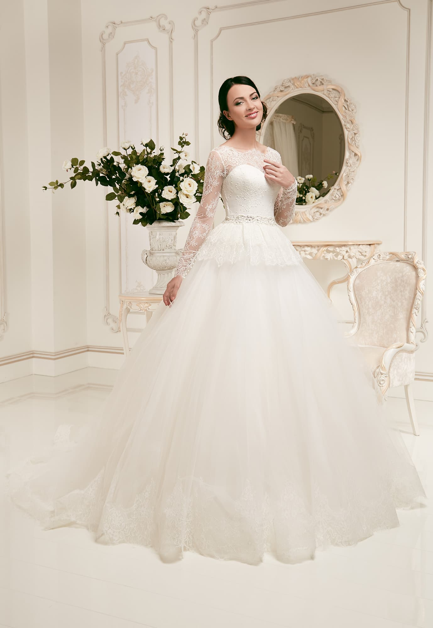 5830cb3d19a Свадебное платье Daria Karlozi Philadelphia. Купить свадебное платье ...