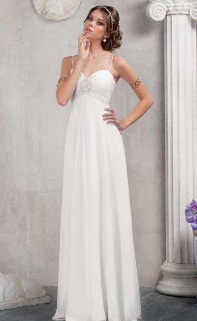 3ccd636bb16 Выбираем модное свадебное платье в греческом стиле