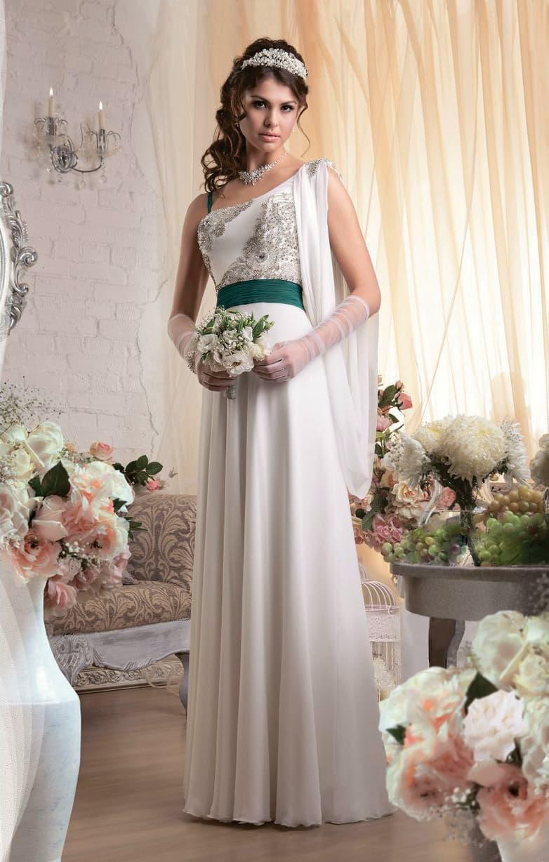 Невесты, свадебный букет к платью в стиле ампир