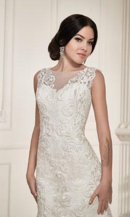 Облегающее свадебное платье «рыбка»