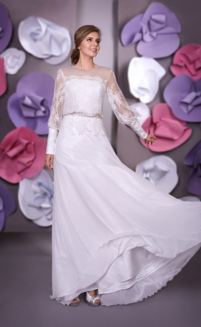 Свадебное платье ретро в стиле 60-х