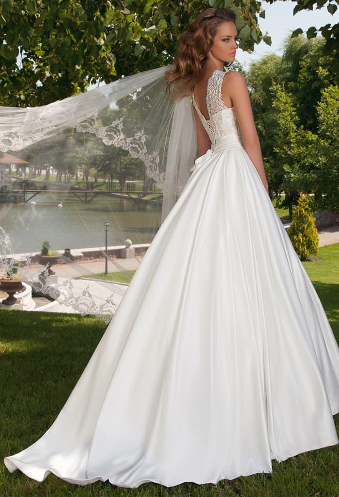 Свадебное платье муха