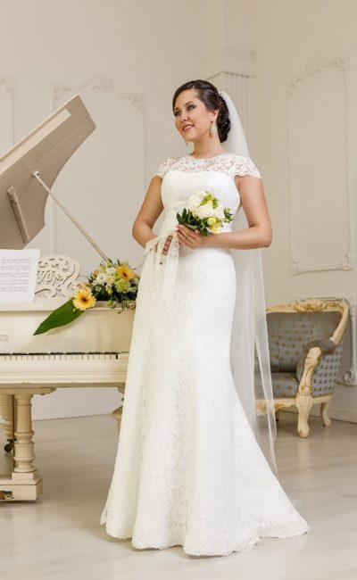 Свадебное платье на полную фигуру