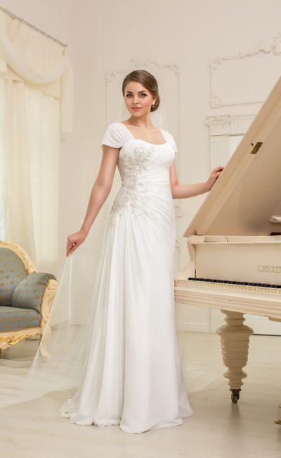 Свадебное платье для полных невест
