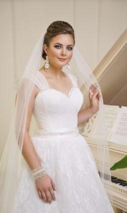 Свадебное платье на полную женщину