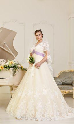 Свадебное платье для полной девушки