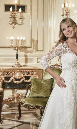 Свадебное платье в большом размере