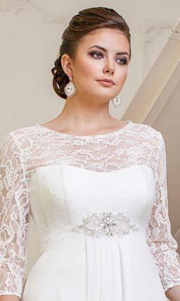 """Свадебное платье на """"полную"""" невесту"""