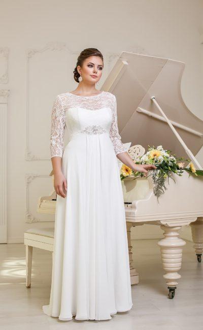 Платье трансформер свадебное для полных
