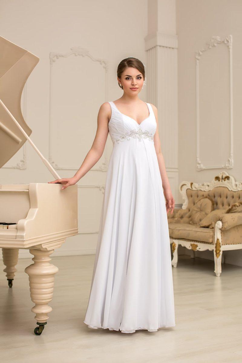 Платье ампир для полных женщин