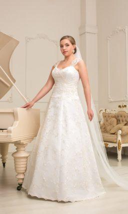 Свадебное платье на полную