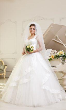 Платье свадебное на полную