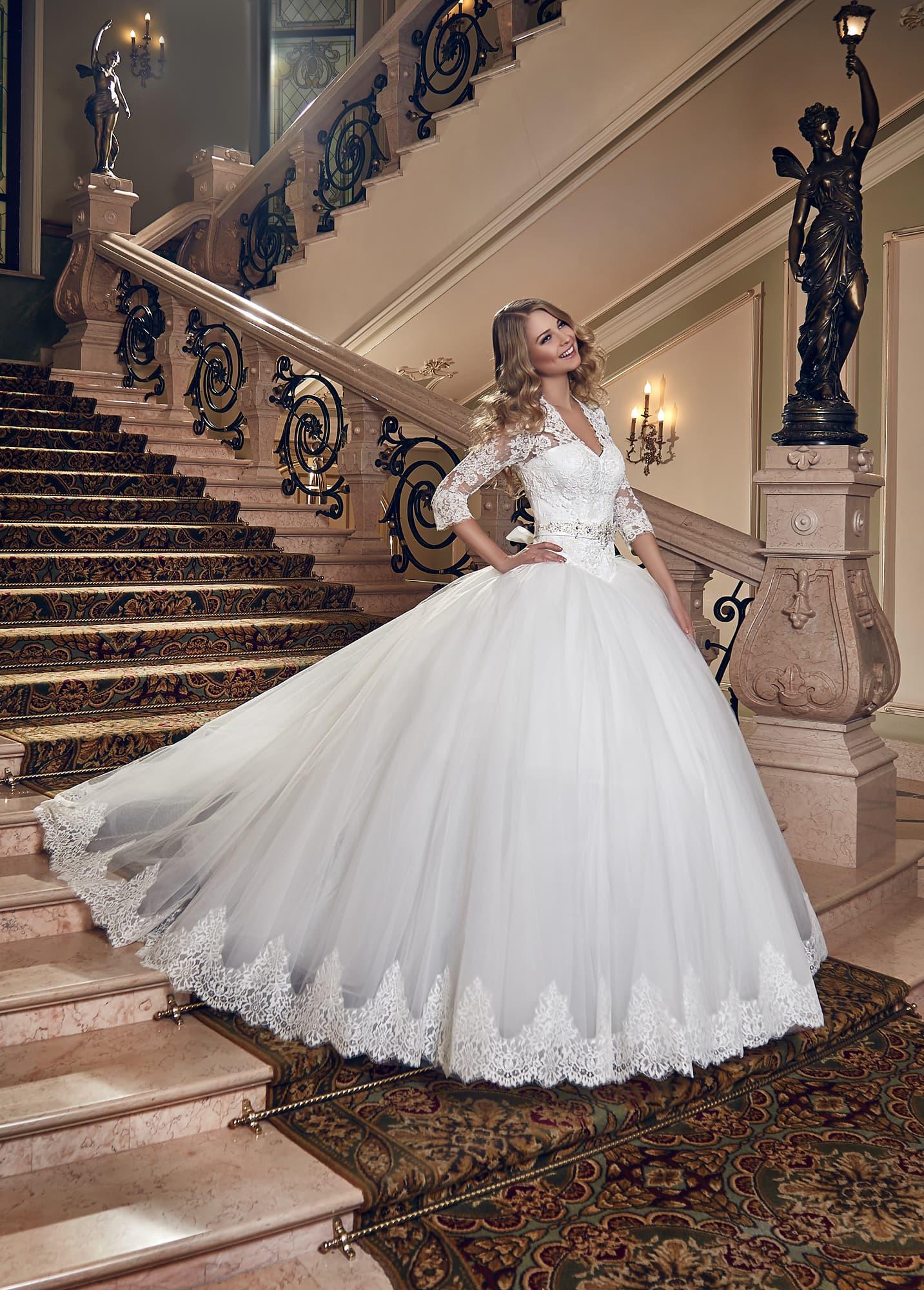 Платье виолетта свадебное