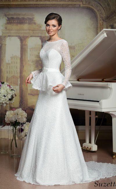 syuzetta_1-400x650 Модные образы в платье с баской