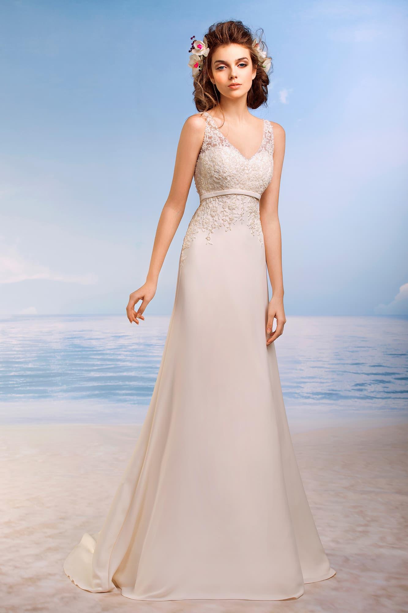 Свадебное платье на тильду