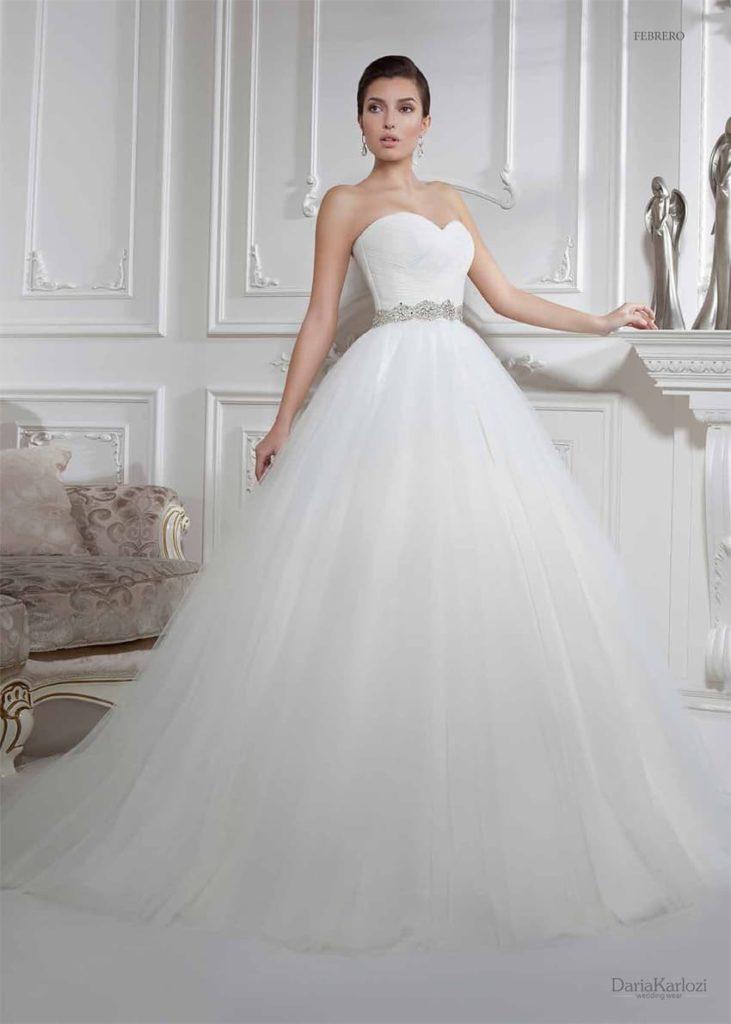 e8d2267f21b Коллекция свадебных платьев Daria Karlozi 2016