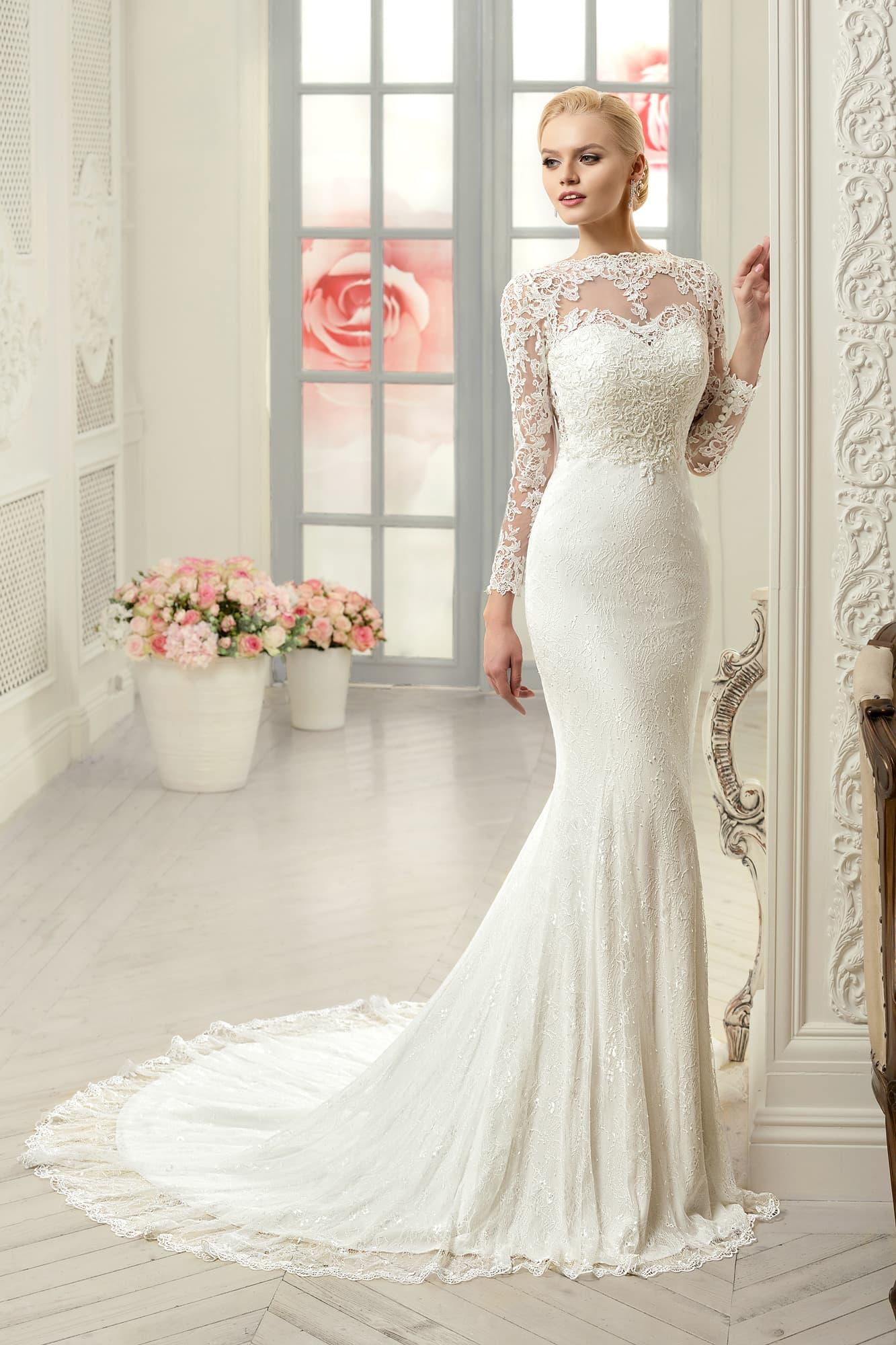 Гипюровые свадебные платья фото