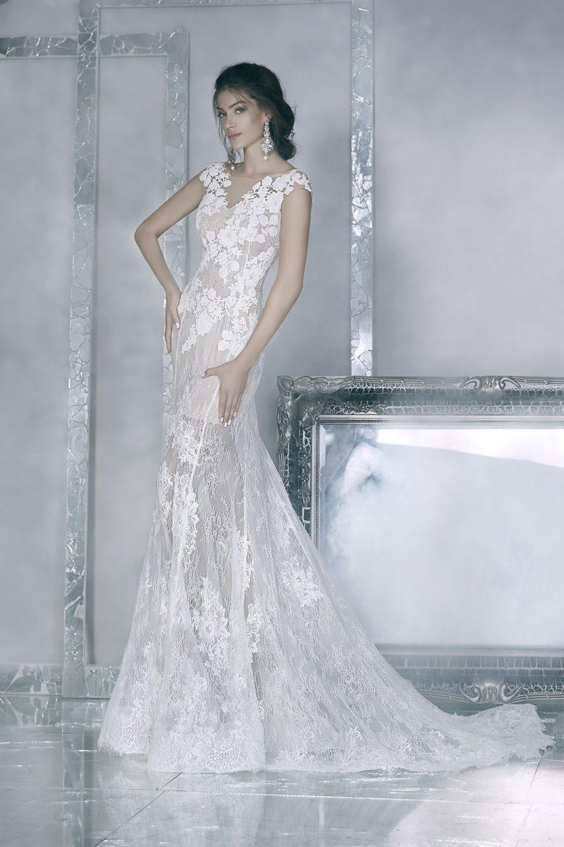 Свадебное платье в стиле «рыбка»