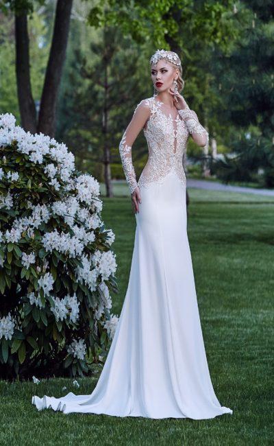Платье свадебное в стиле бохо