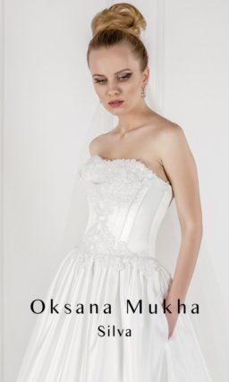Атласное платье годэ