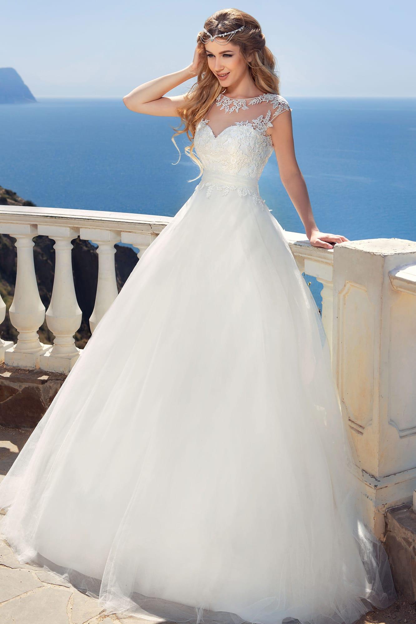 Платье стрекоза свадебное
