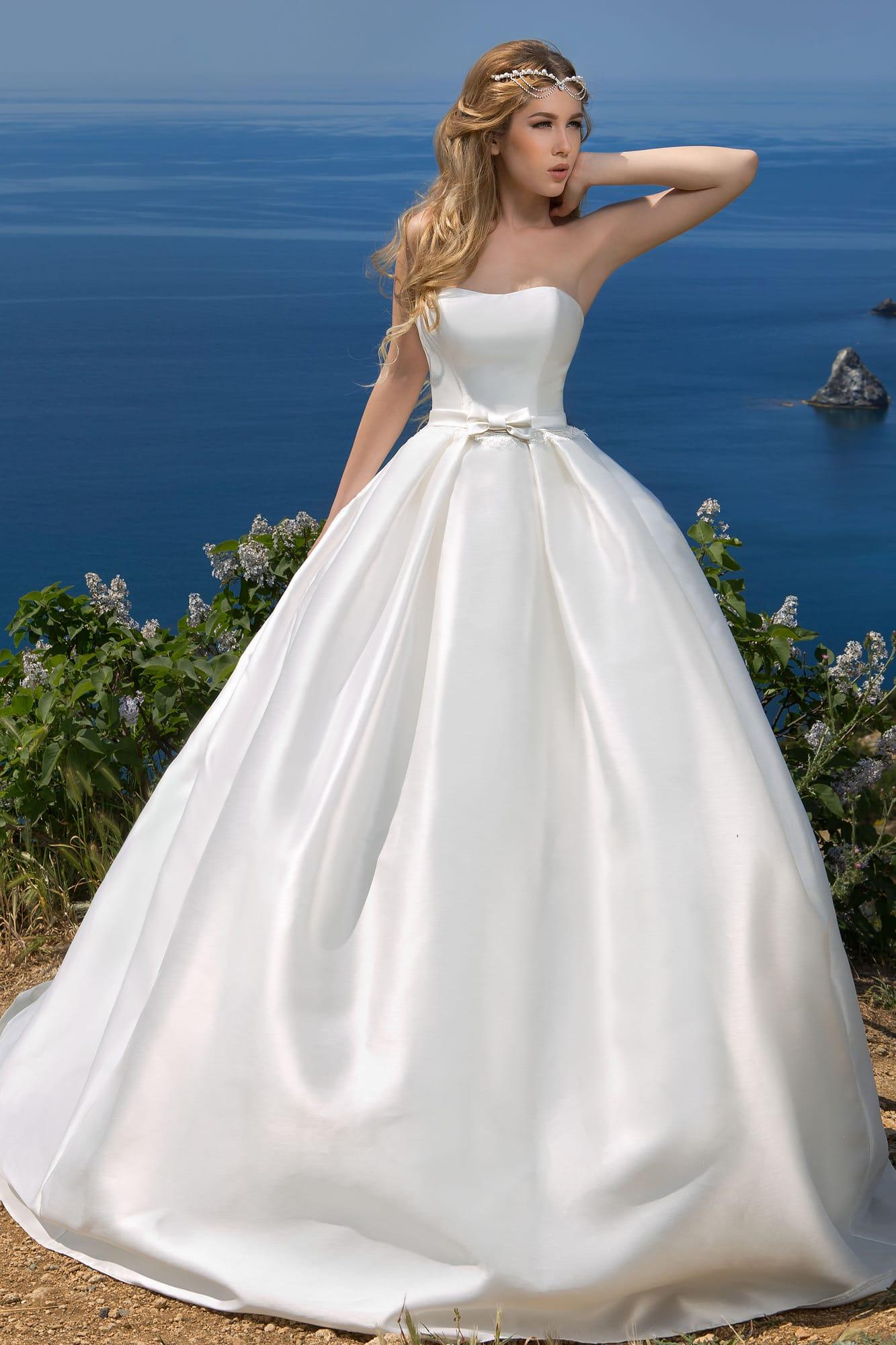 Атласное Свадебное Платье Купить