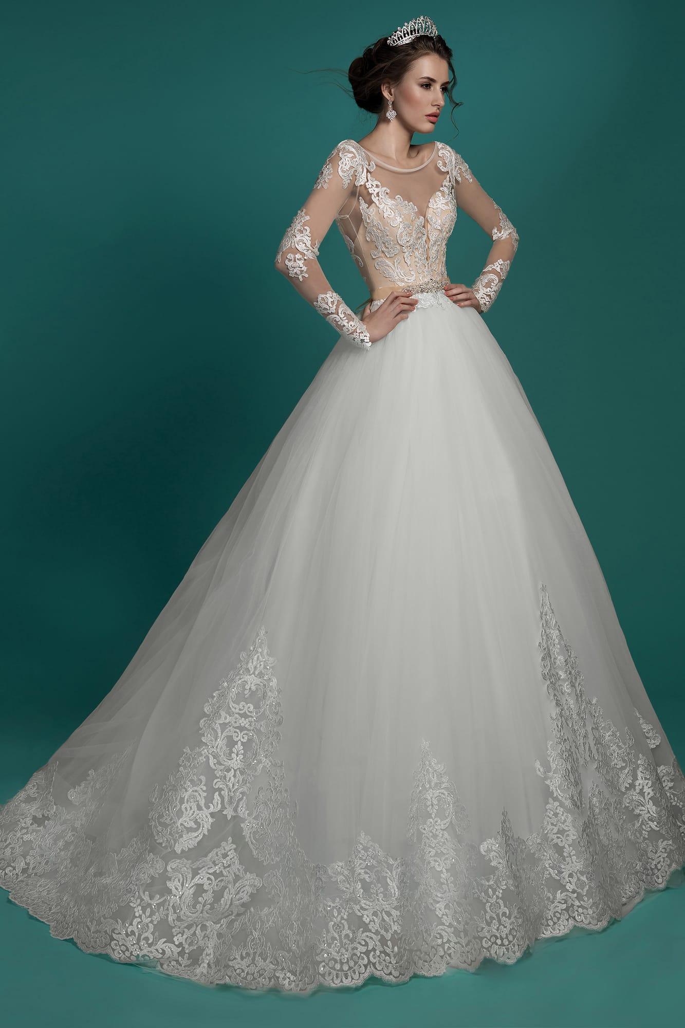 Свадебное платье gabbiano