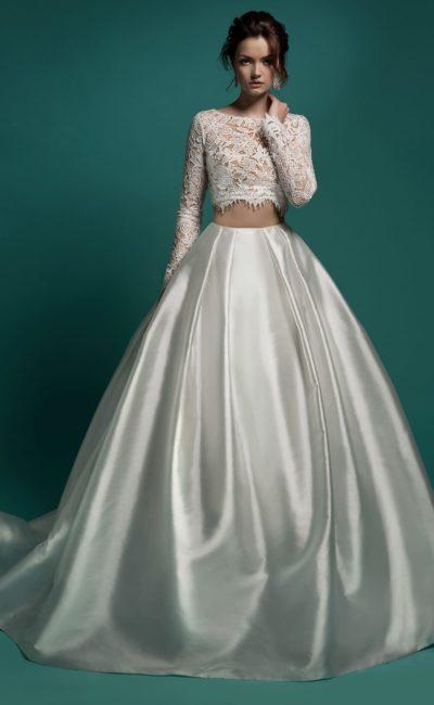 d51c13483cc92ad Свадебные платья Crop Top — раздельные топ и юбка | Свадебный салон ...