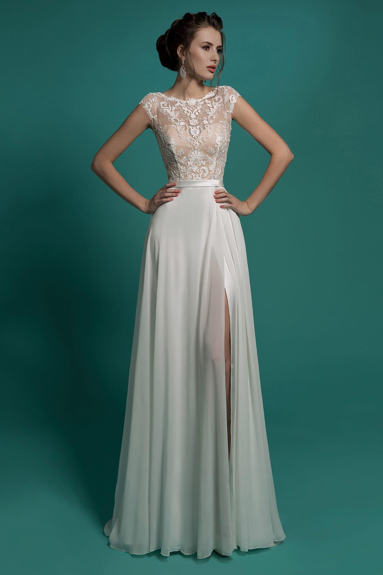 Цветные свадебные платья москва