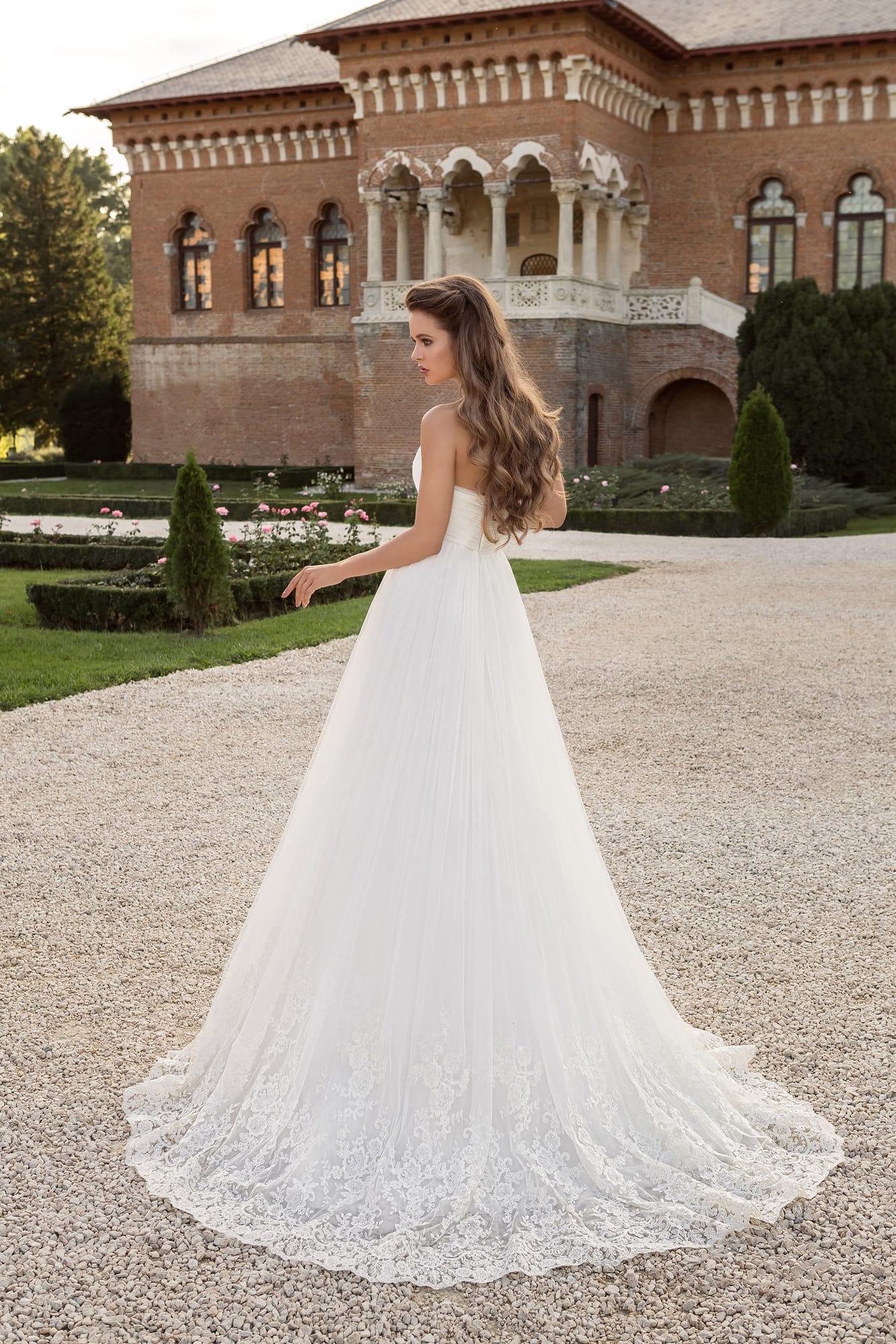 0560741863f Свадебное платье с кружевным болеро Armonia Elsa. Купить свадебное ...