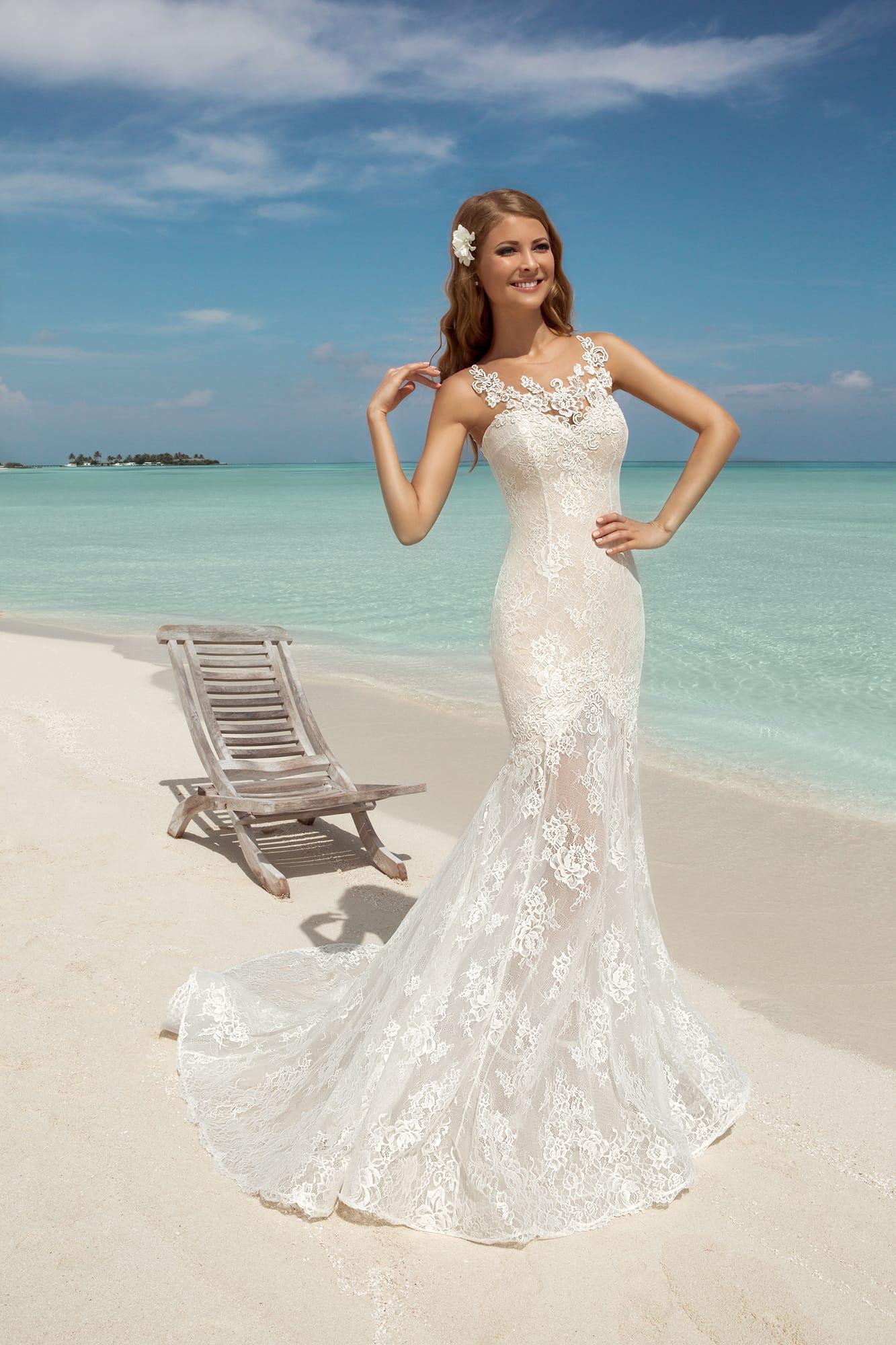 Купить свадебные платья со шлейфом