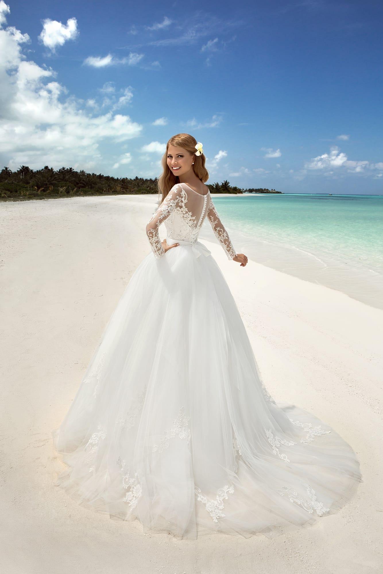 Свадебное платье магдалена