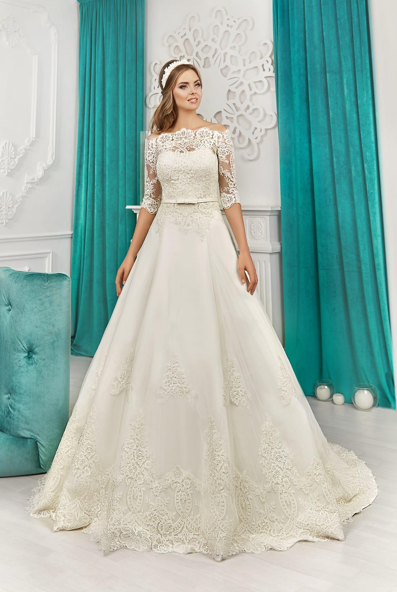 свадебные платья гипюровые