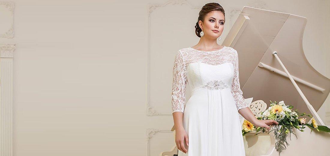 690970fabcdff6c Свадебные платья больших размеров в специальной коллекции Lorange ...