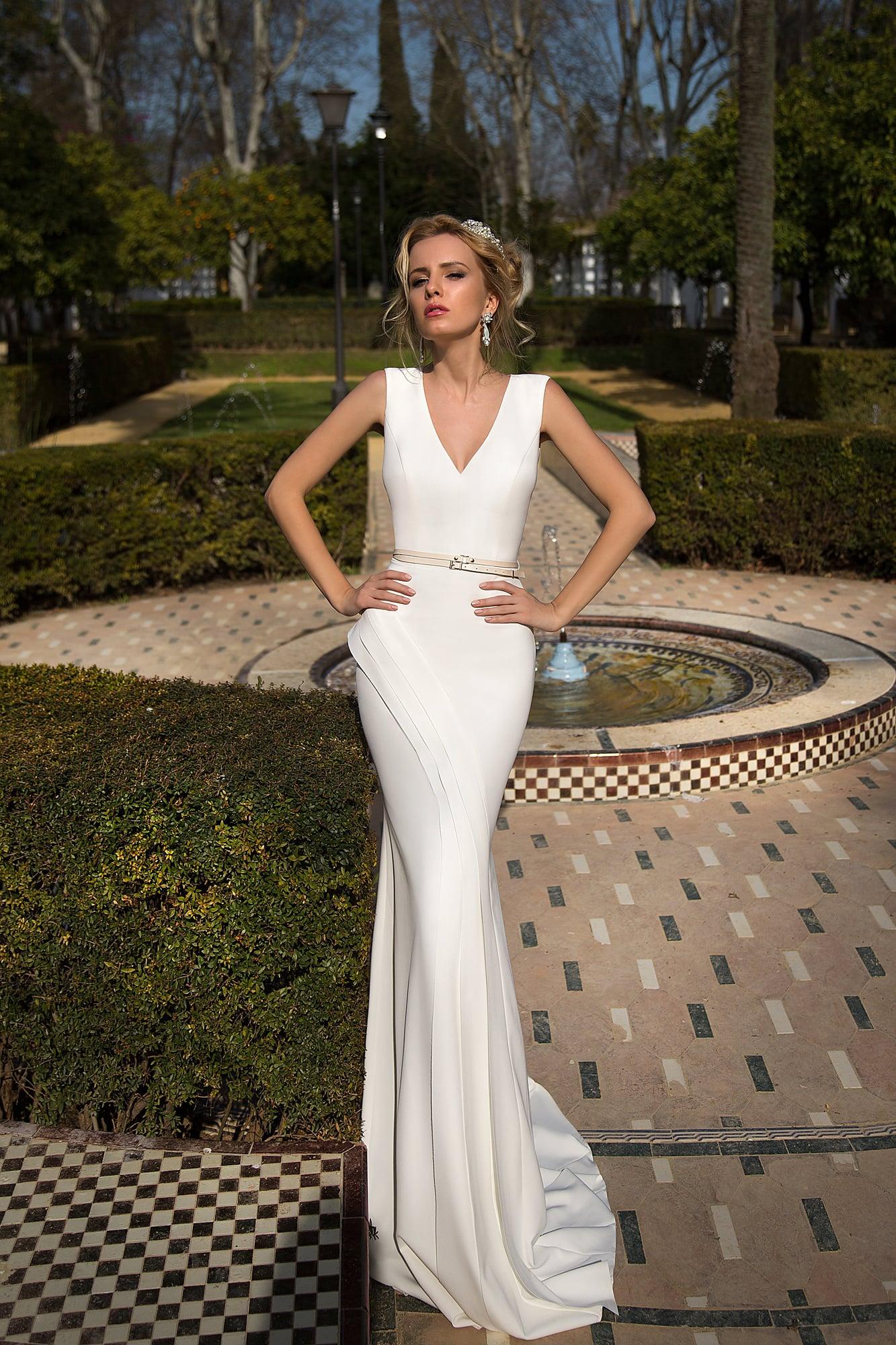 Купить свадебное платье простое