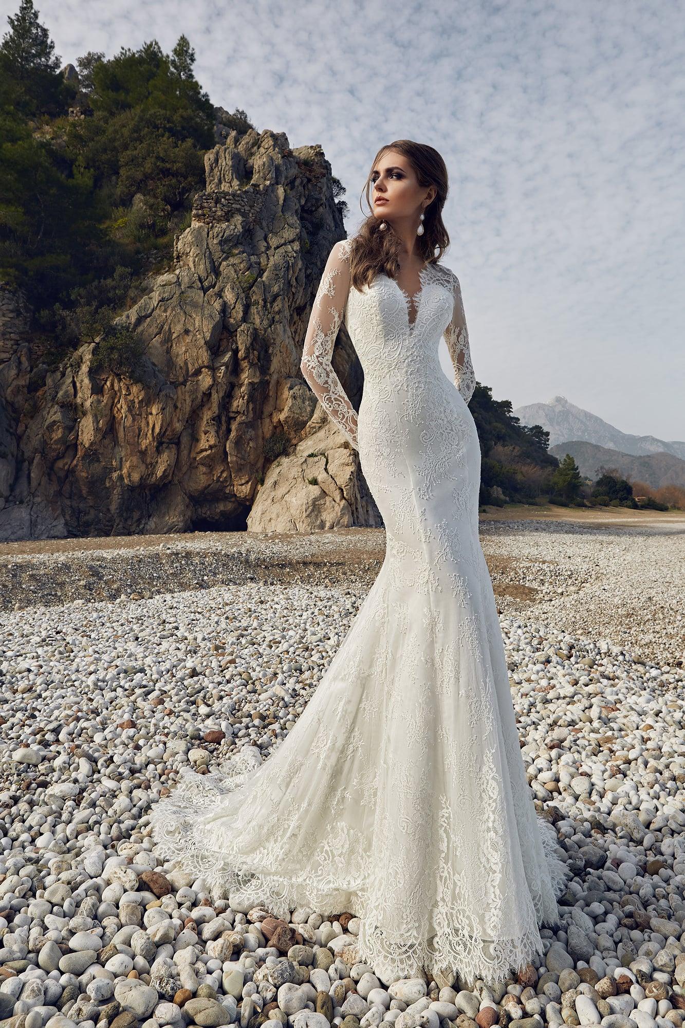 Купить свадебное платье рыбка в москве