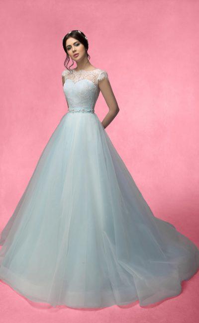 Свадебное платье «в пол»
