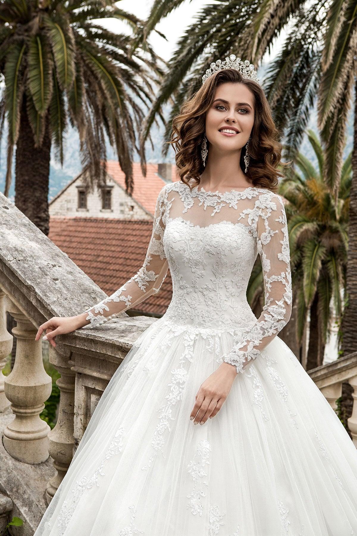 Платье свадебное магнолия