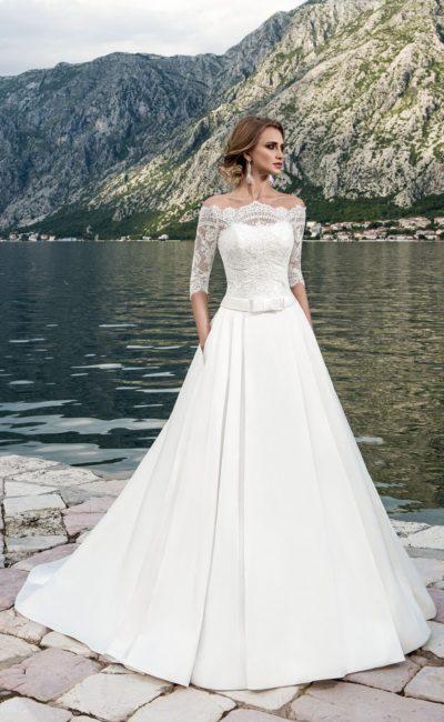 5e629c4d653abec Атласные свадебные платья | Свадебный салон Валенсия (Москва)