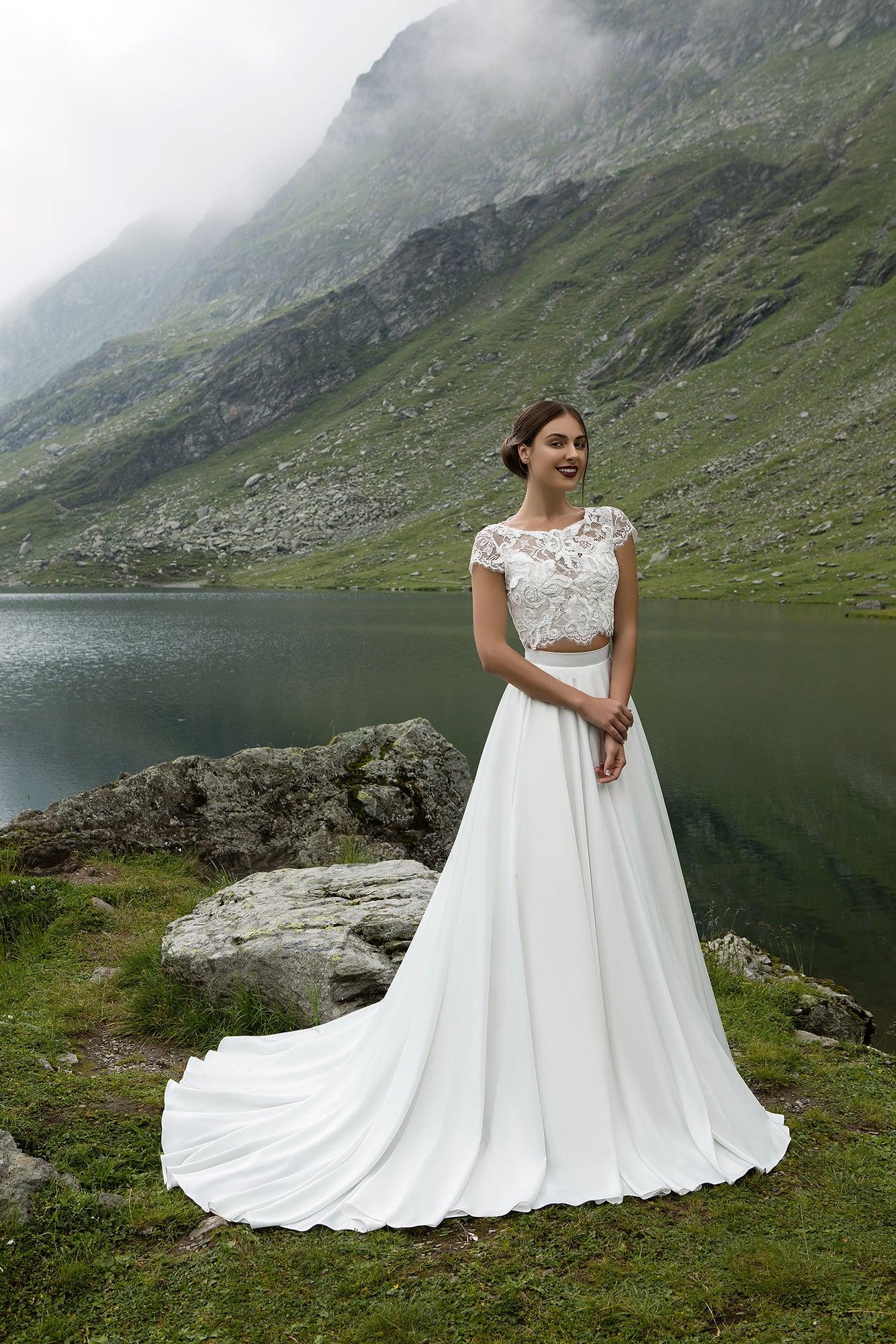 Свадебные топ и юбка купить в москве