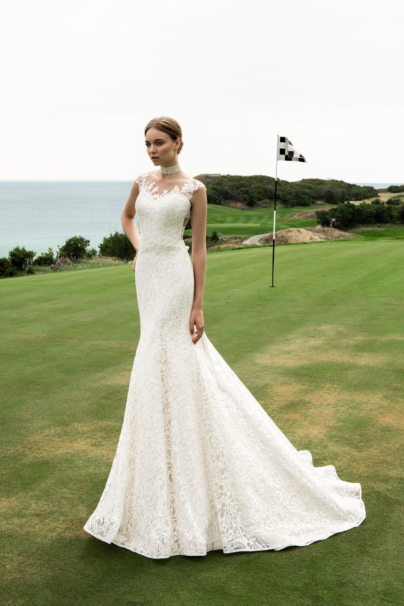 Короткие свадебные платья вега