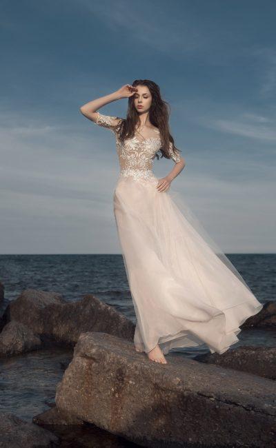 Свадебное платье-трансформер с боди