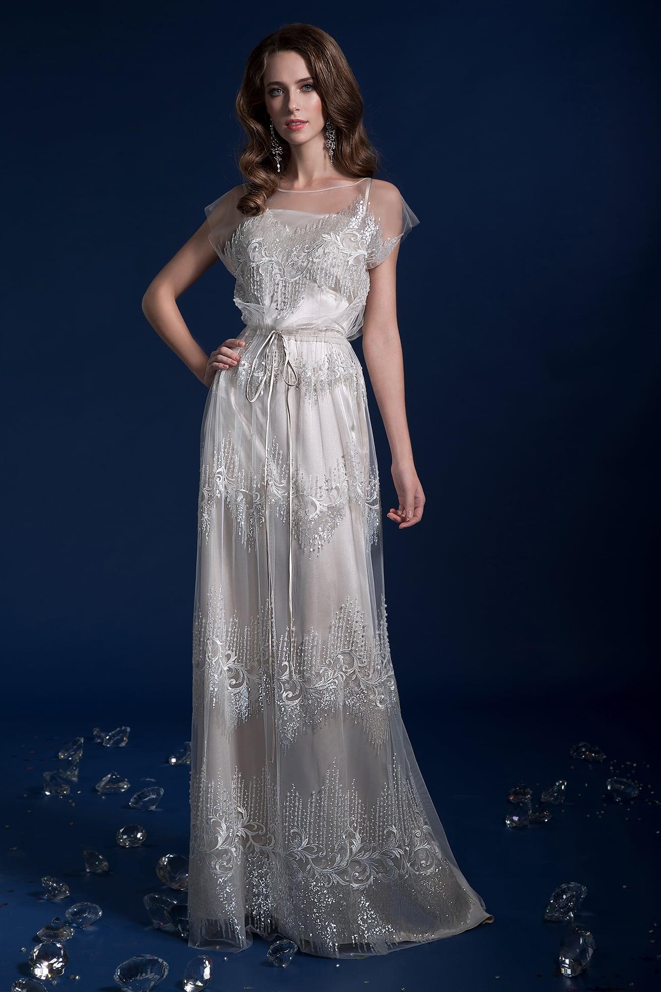 461afd0fd51 Свадебное платье в стиле ампир Gabbiano Розельва. Купить свадебное ...